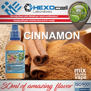 NATURA MIX SHAKE VAPE CINNAMON 30/60ML (κανέλα)
