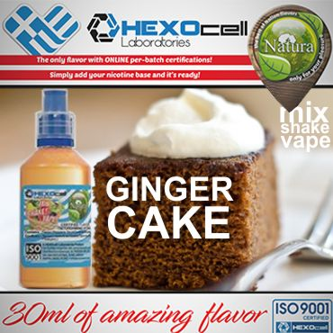 NATURA MIX SHAKE VAPE GINGER CAKE 30/60ML (κέικ ginger)
