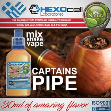 5748 - NATURA MIX SHAKE VAPE CAPTAINS PIPE 30/100ML (καπνικό)