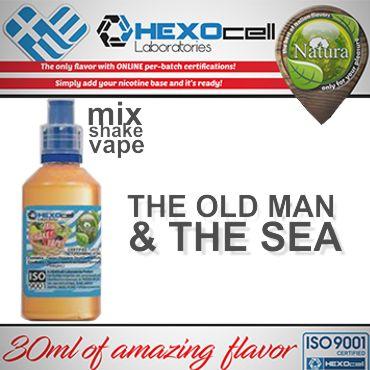 NATURA MIX SHAKE VAPE THE OLD MAN & THE SEA 30/60ML (καπνικό)