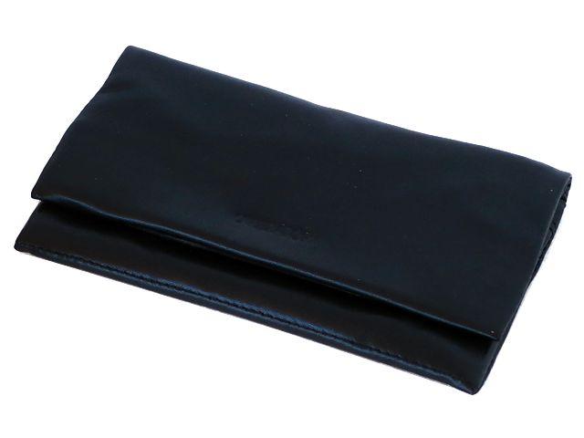 5822 - Καπνοθήκη από γνήσιο δέρμα Over Top 9967-Μ BLACK (μεγάλη με τρεις θήκες) δερμάτινη