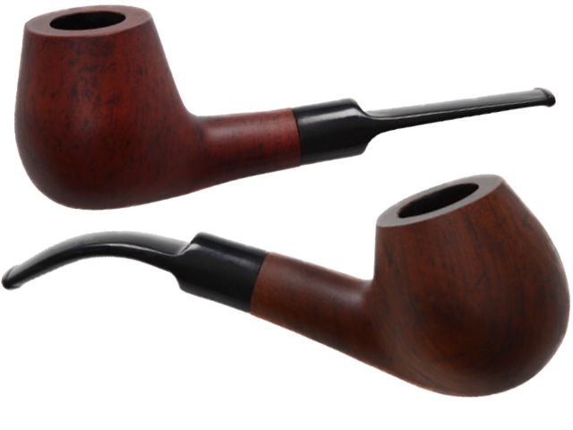 5833 - Πίπα καπνού Coney CO-Pipe 9mm Brown Matte 5557004
