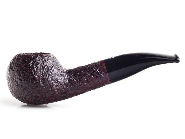 SAVINELLI ONE RUSTIC 321 DARK BROWN πίπα καπνού ημίκυρτη