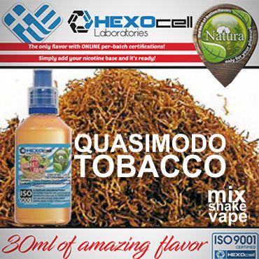 NATURA MIX SHAKE VAPE QUASIMODO TOBACCO 30/60ML (παριζιάνικο καπνικό)