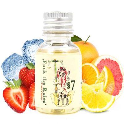 5866 - Άρωμα FUCK THE RULES §7 20ml (δροσερή φράουλα και λεμόνι πορτοκάλι σανγκουίνι)