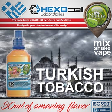 6019 - NATURA MIX SHAKE VAPE TURKISH TOBACCO 30/100ML (καπνικό)