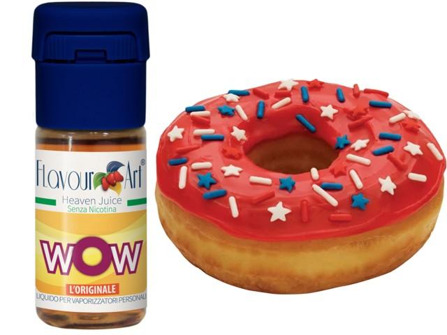 6040 - FlavourArt WOW 10ml (γλασέ donat με φρούτα & ζάχαρη)