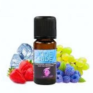 6063 - Άρωμα Twisted Vaping TIDE RIDE 10ml (φράουλα σταφύλι και βατόμουρο)