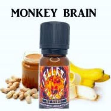 6067 - Άρωμα Twisted Vaping MONKEY BRAIN 10ml (φυστικοβούτυρο και μπανάνα)
