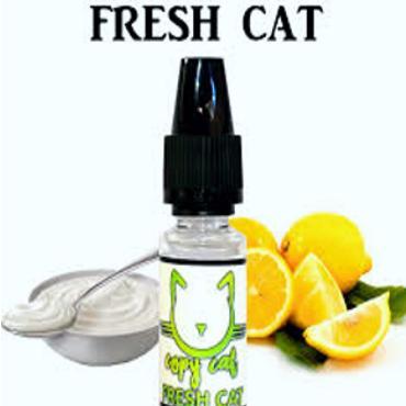 6087 - Άρωμα COPY CAT FRESH CAT 10ml (κρέμα και λεμόνι)
