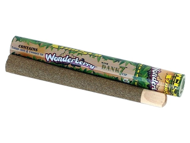 6137 - Cyclones WONDER BERRY Pre Rolled Pipe Hemp Cone (βατόμουρο)