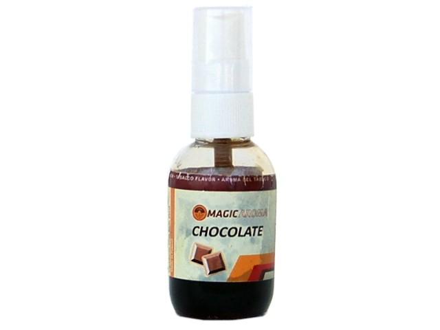 6143 - Υγρό για καπνό Magic Aroma CHOCOLATE (σοκολάτα) 50ml για ψεκασμό καπνού