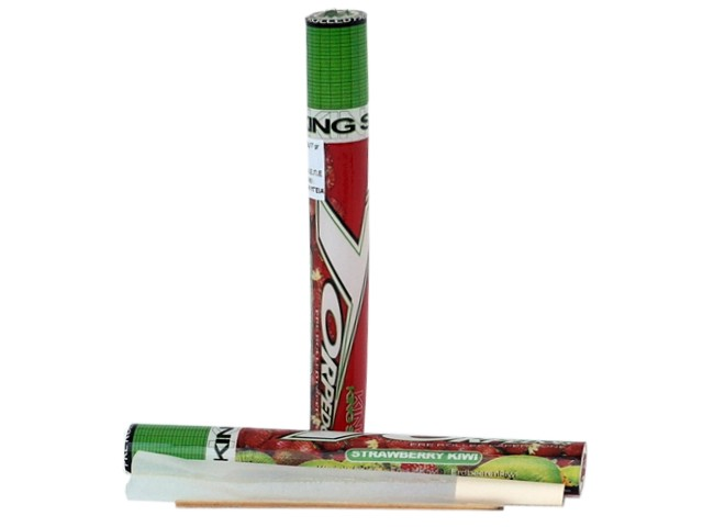6196 - TORPEDOES King Size pre rolled paper cone STRAWBERRY KIWI