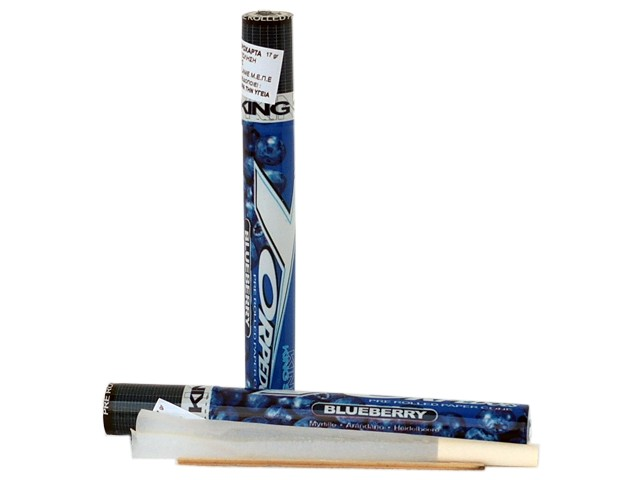 6197 - TORPEDOES King Size pre rolled paper cone BLUEBERRY (βατόμουρο)