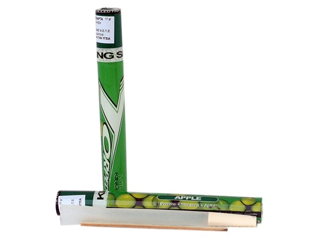 6199 - TORPEDOES King Size pre rolled paper cone APPLE (μήλο)