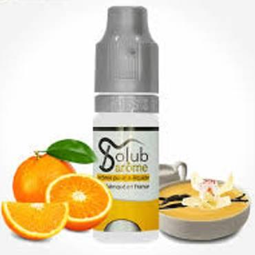 6213 - Άρωμα Solub Arome BITTER ORANGE CREAM 10ml (πορτοκάλι με κρέμα βανίλια)