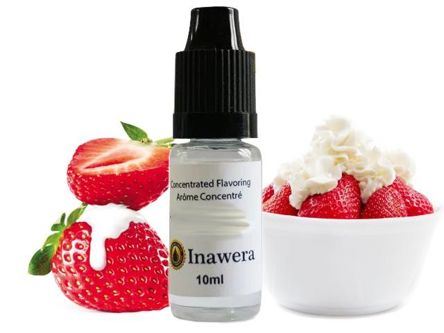 6261 - Άρωμα inawera WILD STRAWBERRY 10ml (φράουλα με κρέμα)