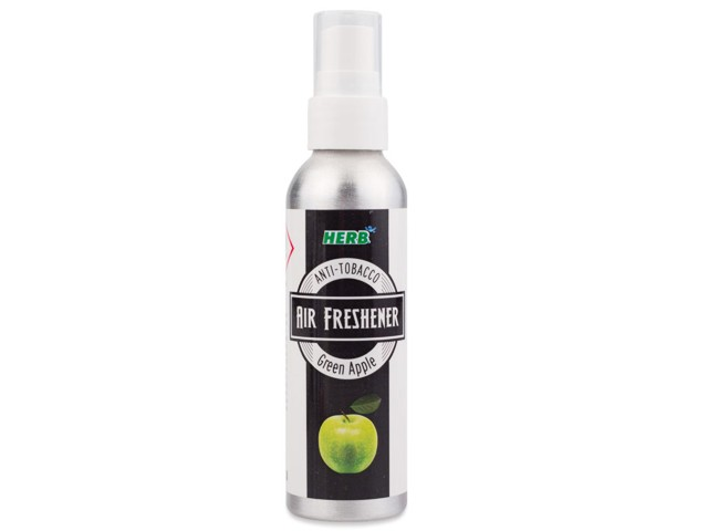 6324 - HERB AIR FRESHENER GREEN APPLE ( Anti-Tobacco χώρου)