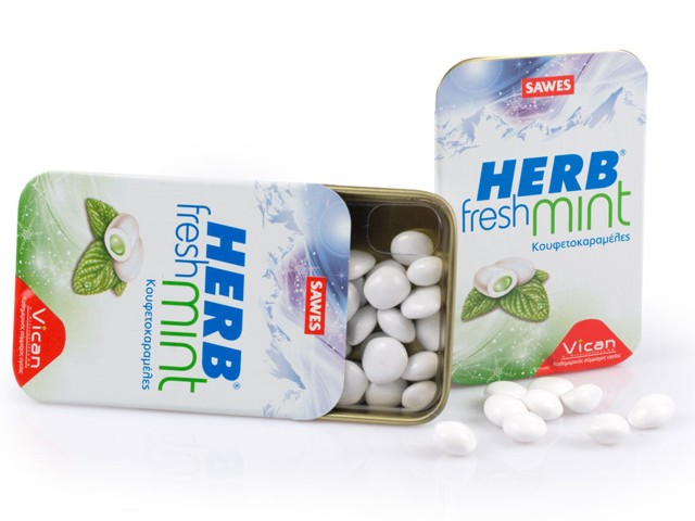 Herb Fresh Mints (Anti_Smoke καραμέλες)