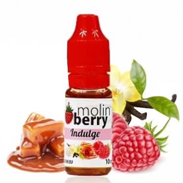 6355 - Άρωμα MolinBerry INDULGE 10ml (καραμέλα κρέμα και σμέουρο)