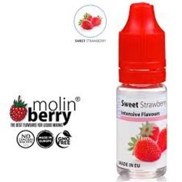 6378 - Άρωμα MolinBerry SWEET STRAWBERRY 10ml (γλυκιά φράουλα)