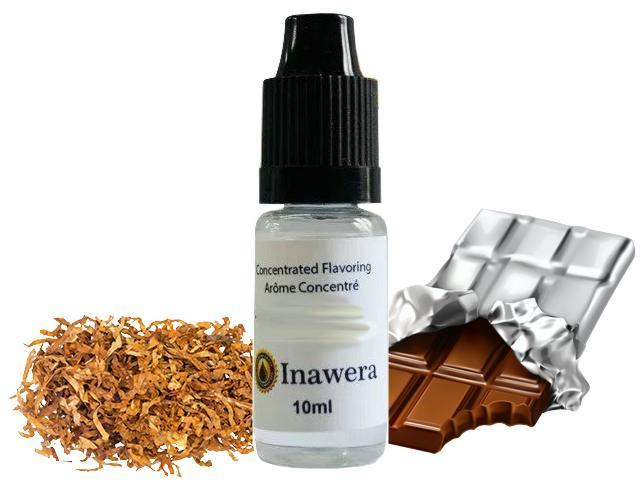 6494 - Άρωμα inawera TABACCO DARK CHOCOLATE 10ml (καπνικό με σοκολάτα)