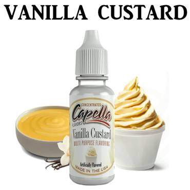 6548 - Άρωμα Capella Vanilla custard 13ml (βανίλια Custard)