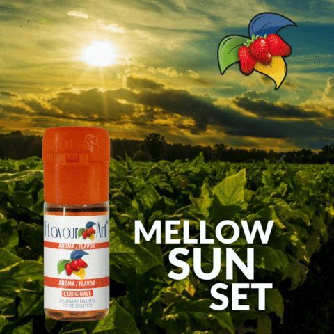 Άρωμα Flavour Art MELLOW SUNSET (καπνικό με γλυκόριζα) 10ml