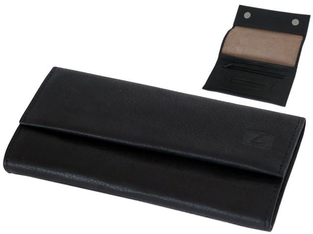 6602 - Lavor 1-31984 BLACK (για άδειασμα καπνού ή σακουλάκι καπνού) δερμάτινη καπνοθήκη