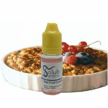 6640 - Άρωμα Solub Arome CRUMBLE RED FRUIT 10ml (ζύμη με κόκκινα φρούτα)