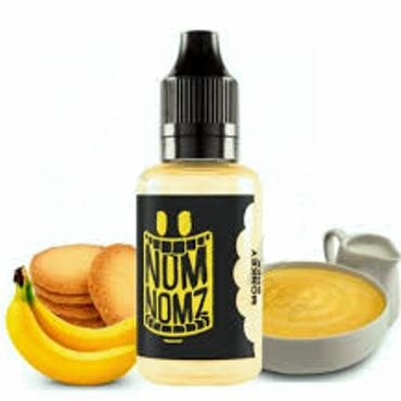 6641 - Άρωμα NOM NOMZ MONKEY BREK 30ml (μπισκότο κρέμα και μπανάνα)