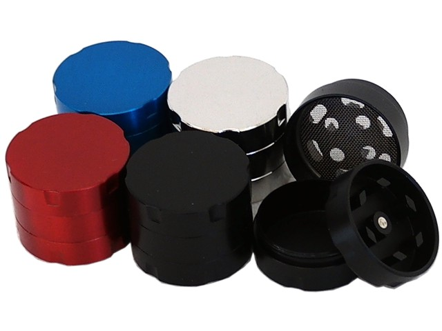Τρίφτης καπνού CHAMP MINI GRINDER ALUMINIUM 3 LAYERS 30mm 40447907 (3 parts)