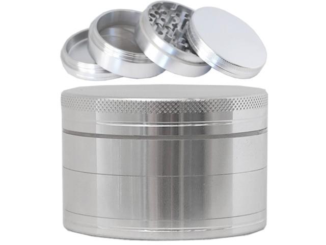 Τρίφτης καπνού GRINDER HAMMERCRAFT by HBI 63mm 00935 (αλουμίνιο)