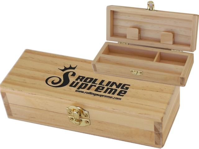 6723 - Rolling Box Rolling Supreme ξύλινο για στριφτό Small T1 12192