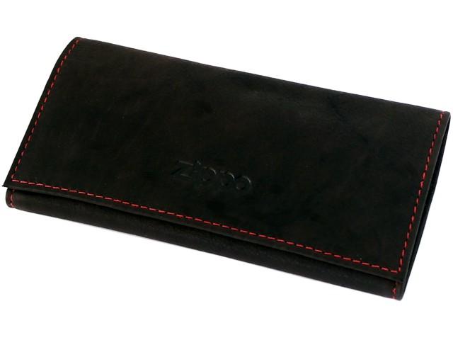 6797 - Καπνοθήκη ZIPPO 2005130 Leather Tri Fold MOCCA δερμάτινη