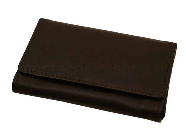 6836 - Καπνοθήκη του παππού 44438-200 από γνήσιο δέρμα (καφέ μεσαία για χύμα καπνό)