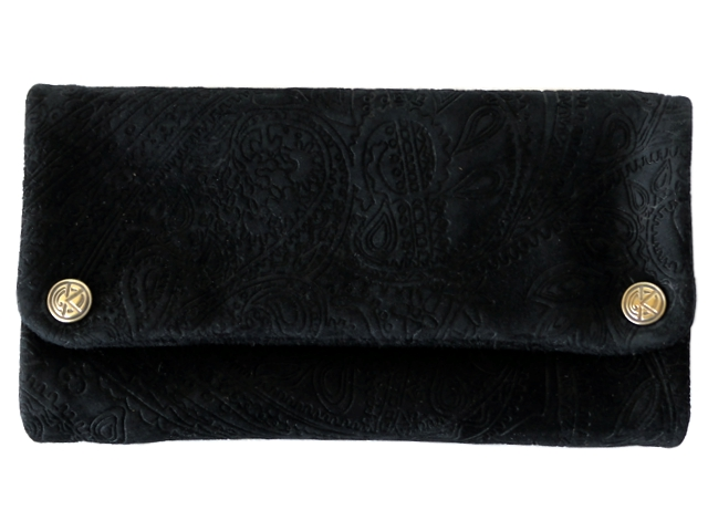 6854 - ORIGINAL KAVATZA TP14 SUEDE ETHNIC (γνήσιο δέρμα) δερμάτινη καπνοθήκη