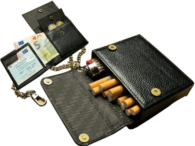 6863 - ORIGINAL KAVATZA CIGARETTE WALLET CWO1 (θήκη για τσιγάρα / πορτοφόλι) δερμάτινη καπνοθήκη