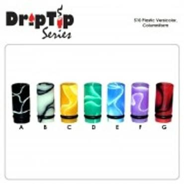 6893 - Drip Tip plastic (Aspire BVC κτλ) Columniform