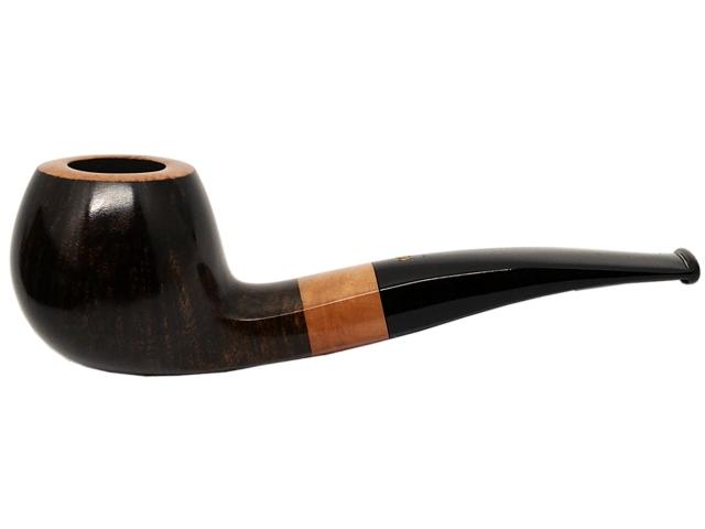 6947 - Stanwell Pipe Night & Day 182 9mm Dark pol. πίπα καπνού ημίκυρτη