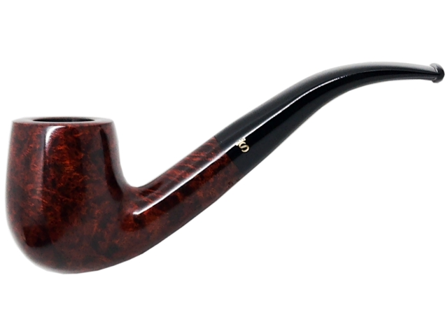 6958 - Stanwell Pipe De Luxe 246 9mm Brown Polished