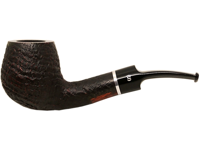 Stanwell Pipe Relief 233 Black Sand 9mm πίπα καπνού κυρτή