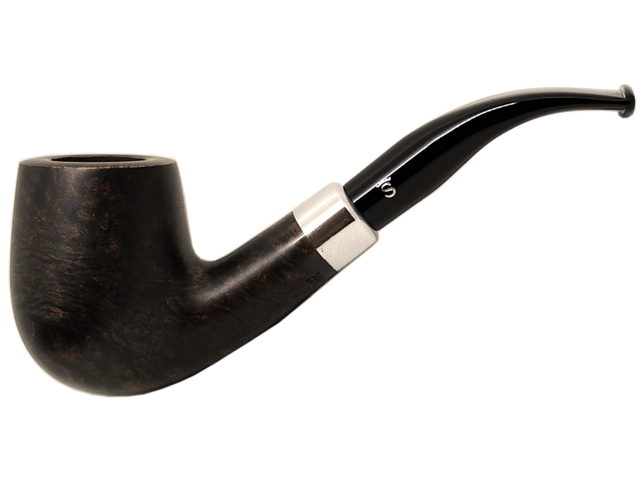 6967 - Stanwell Pipe Army Mount 246 Light Black 9mm πίπα καπνού κυρτή