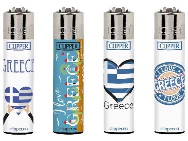 Clipper Greece Touristic Large CP11RH αναπτήρας