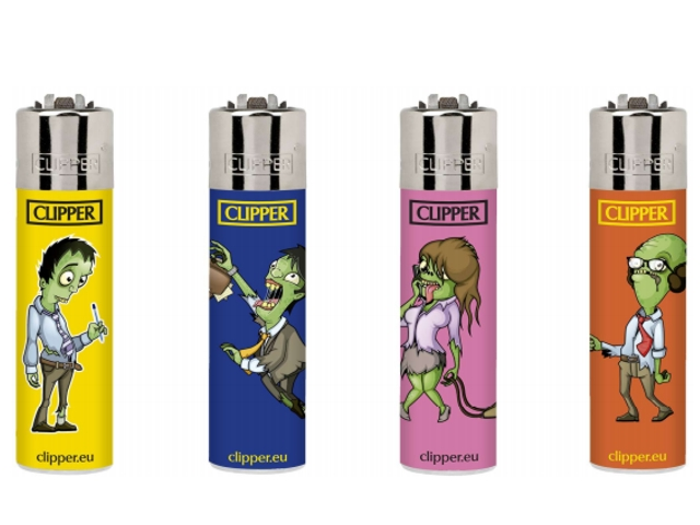 6974 - Clipper D48 CP22RH CHARACTERS 13 ZOMBIES Small Αναπτήρας