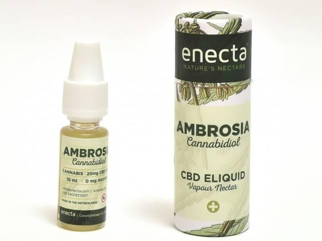 Υγρό αναπλήρωσης Ambrosia by Enecta CANNABIS 20mg CBD (Κανναβιδιόλη) 10ml