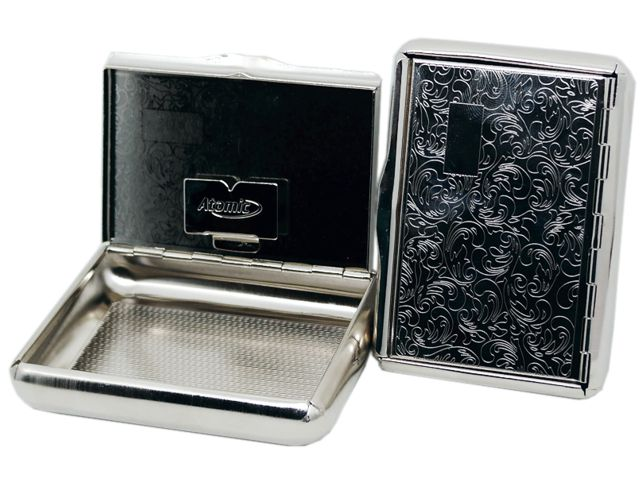 7029 - ATOMIC Tabakdose Madeira 0406006 Μεταλλική θήκη για καπνό