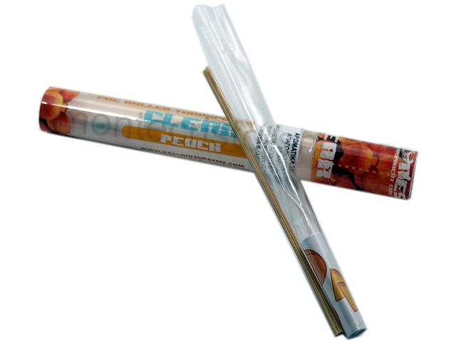 Cyclones Clear Peach Pre Rolled Transperant Cone (ροδάκινο)