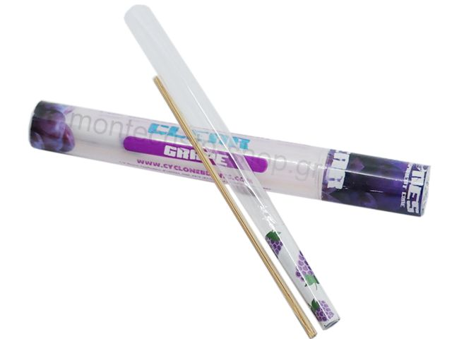 7067 - Cyclones Clear Grape Pre Rolled Transperant Cone (σταφύλι )
