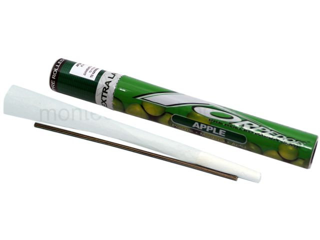 TORPEDOES Extra Large Size Apple pre rolled paper cone (130mm) μήλο